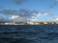 A Coruña bei Abfahrt